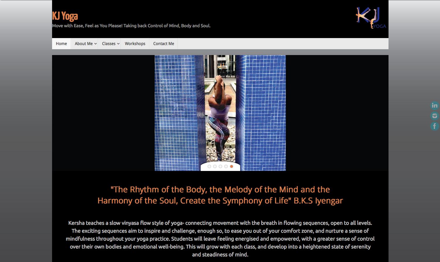 KJYoga Homepage