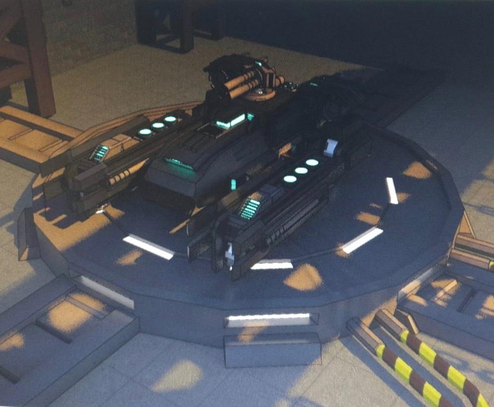 Battle Drive: Main Vehicle